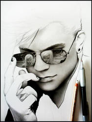 Adam Lambert -WIP1- by Cataclysm-X
