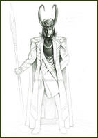 God of Mischief - WIP by Cataclysm-X