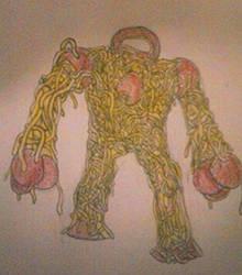 Spaghetti Golem by Ruffits