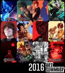 Art Summary [2016] by brepai