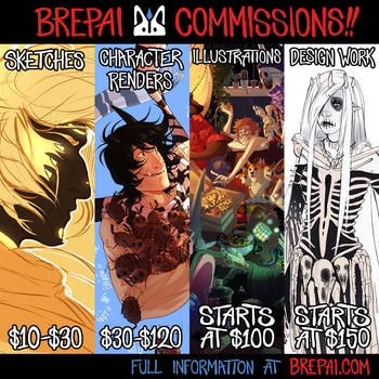 COMMISSION SHEET by brepai