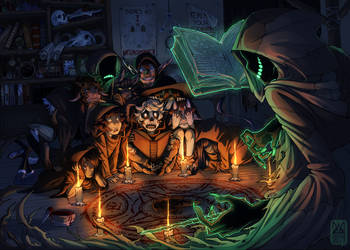 Creepy's School for Little Necromancers by brepai