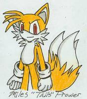 C Sketch- Miles Tails Prower by wandablazer