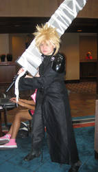 Cloud Strife: Naka-kon 2010 by kisses-from-an-angel