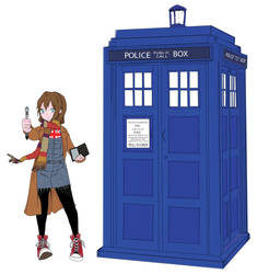 Whovian Girl by LittlePandaExpress