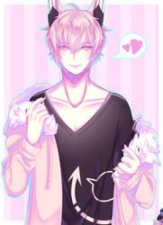[OC] Flirt by Miireku