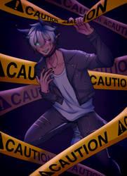 [OC] !! CAUTION !! by Miireku