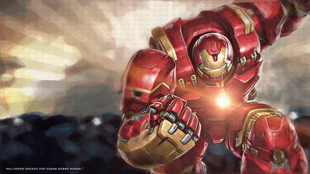 Hulkbuster Wallpaper by Admin-Cap