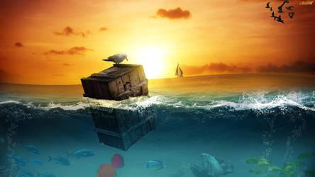Fishing by FantasyArt0102