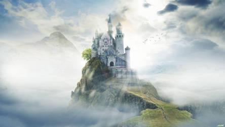 Paradise Castle by FantasyArt0102