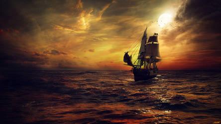 The Ship by FantasyArt0102