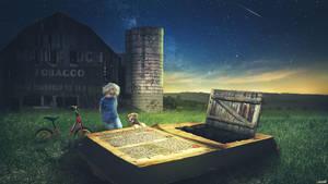 Book Gate by FantasyArt0102