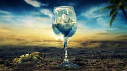 The Glass by FantasyArt0102