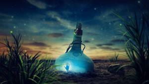 Last bottle by FantasyArt0102