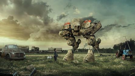 The Robot by FantasyArt0102
