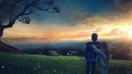 Sunset by FantasyArt0102