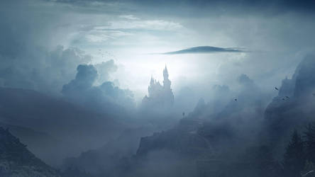Lost Castle by FantasyArt0102