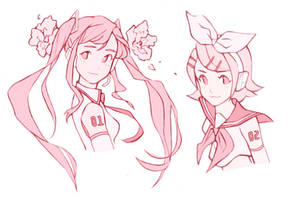 vocaloids by PastelPyre