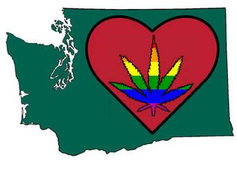 Washington Loves Gay Marijuana by ev0net