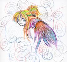 crayola rainbow twistables CHO by aichan25
