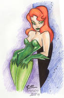 Bruce Timm art colored by me by aichan25