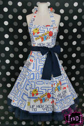 Pac-Man 8-Bit 80's Dress by TheVintageDoctor