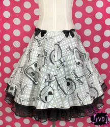 Nightmare Before Christmas Jack Heads Skirt (OOAK) by TheVintageDoctor