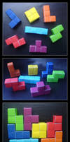 Origami Tetris by lonely--soldier