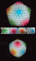 Big Sonobe Origami Ball by lonely--soldier