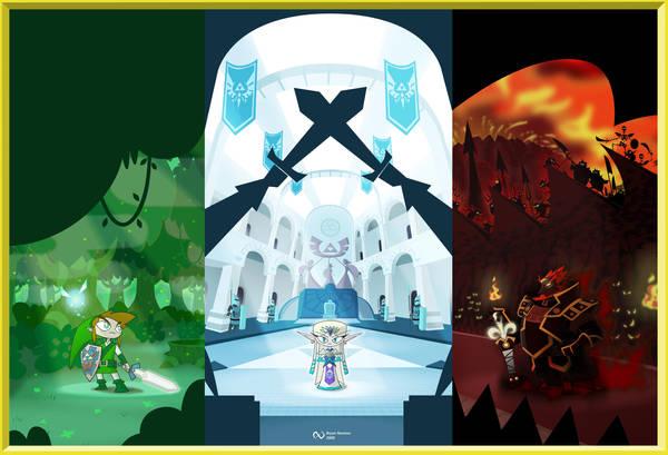 The Legend of Zelda by Banondorf