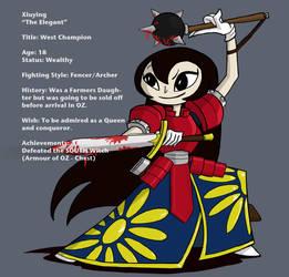 Battle OZ - Xiu by Banondorf