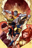 X-Men first Class cover by guillembe