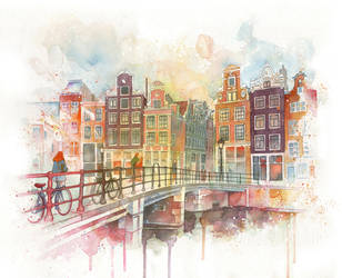 Amsterdam by guillembe