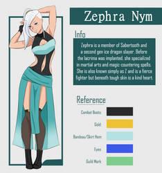 FT OC- Zephra Nym by SpiritOfStars