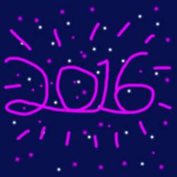 Happy New 2016!! by DullBones