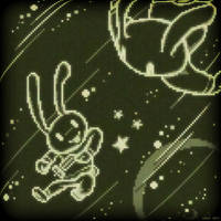 Space bunnies by Orteil