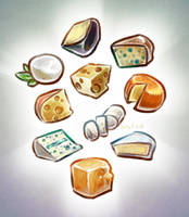 Cheeses by Orteil