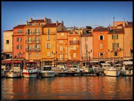 Saint-Tropez Promenade by kuma-x