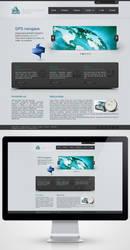 GPS Global System Webpage by kuma-x