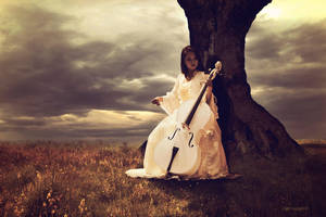 La violoniste II by FreezyDavySmokey