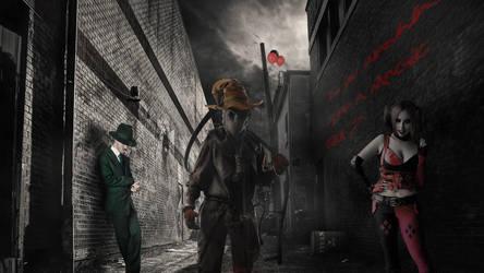 Gotham Sin City by FreezyDavySmokey