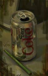 Diet Coke Still Life Study by ChipWhitehouse