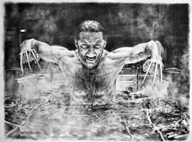 Wolverine Jackman by ChipWhitehouse
