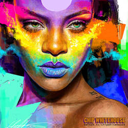 Fenty Rainbow by ChipWhitehouse