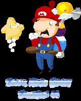 Super Mario Galaxy Sunshine 64 by EdpR
