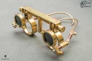 Steampunk glasses by Tharrk