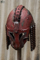 Postapocalyptic Gladiator Helm by Tharrk