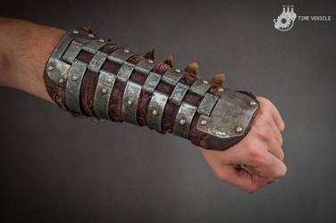 Postapocalyptic Steel Bracer by Tharrk