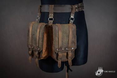 Double Wastelander Bag by Tharrk