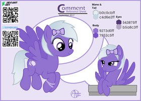 Comment Pony Reference sheet by arifproject